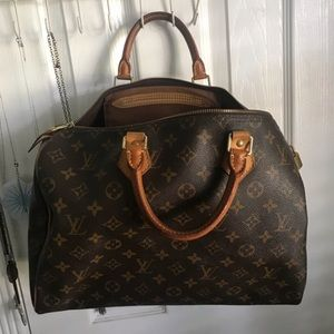 Authentic LV speedy35